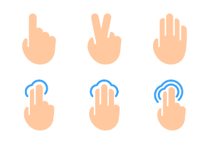 Touch Gestures Vol.2