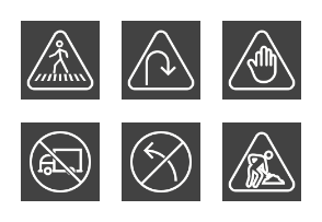 Traffic Signs Line Inverted