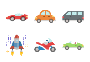 Transport and Vehicles Flat