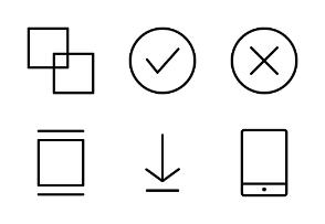 UI Interface (Line)