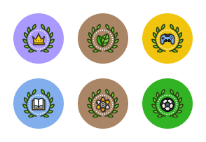 Unigrid Flat Achievements & Badges