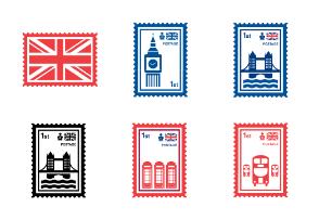 United Kingdom & London Stamps