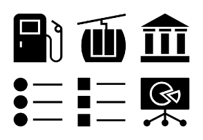 Universal Mobile Solid Icons Vol 4