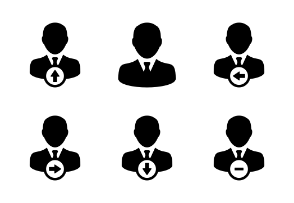 User Icons - Business, Finance, Teamwork Icons