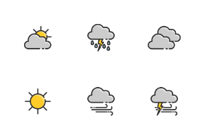 Various weather at day and night