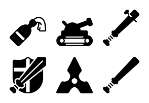 Weaponry Solid Collection