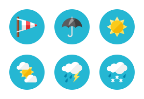 Weather Icons - Rounded