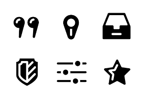 Web Application Icons. Part I