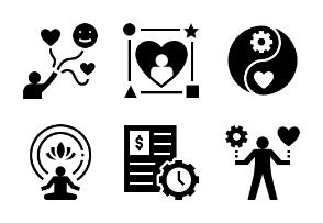 Work-Life Balance Glyph