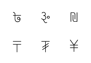 World currency_Symbol