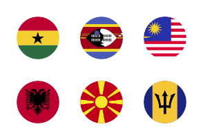 World Flags Circular