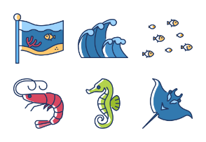 World Oceans Day - BZZRICON Color Omission