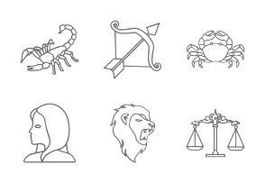 Zodiac and Horoscope Outlines