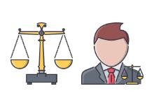Law Filled Outline