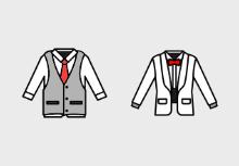 Men Clothes lineal color